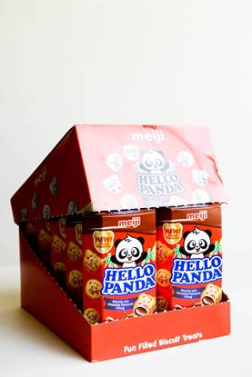 Picture of Meiji Hello Panda Biscuit Choco 50g*10