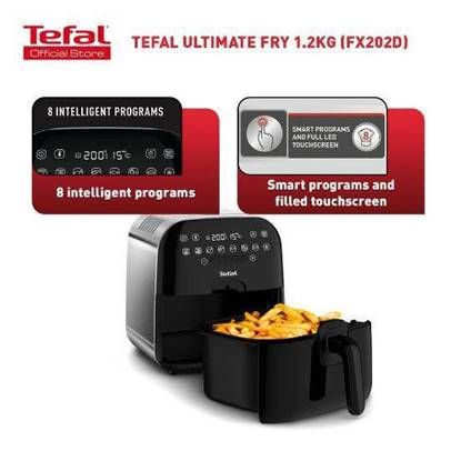 Picture of FX202D27-ULTIMATE AIR FRYER 1.2KG METAL Tefal