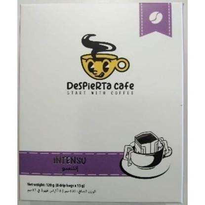 Picture of Despierta Café INTENSO 80% Arabica,20% Robusta Coffee drip bag 120g (8 drip bagsx15g)