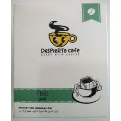 Picture of Despierta Café FINO 80% Arabica,20% Robusta Coffee drip bag 120g (8 drip bagsx15g)