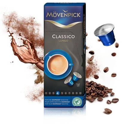 Picture of MovenPick CLASSICO LUNGO (53g) Compatible with NESPRESSO Machine 10 capsules
