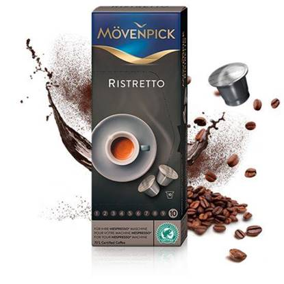 Picture of MovenPick RISTRETTO (53g) Compatible with NESPRESSO Machine 10 capsules