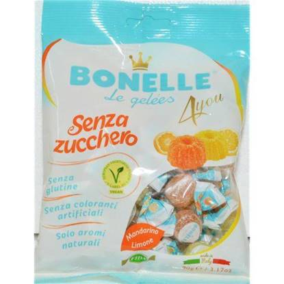 Picture of BONELLE  4 you Gelees Mandarine/Lemon (90gm) VEGAN GLUTEN FREE SUGAR FREE