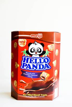 Picture of Meiji Hello Panda Biscuit Choco 260g*8