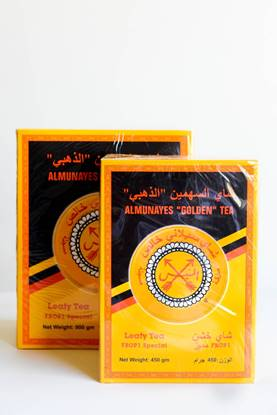 Picture of Almunayes Golden Tea 450g