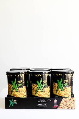 Picture of potato sticks xtrem hot & spicy