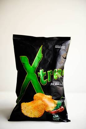 Picture of potato  xtrem hot 50gm