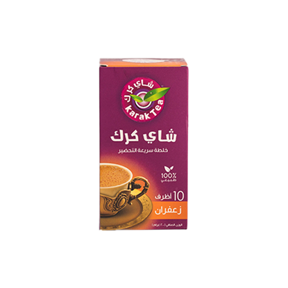Picture of   Karak Tea Saffron   200g - 10 Sachets