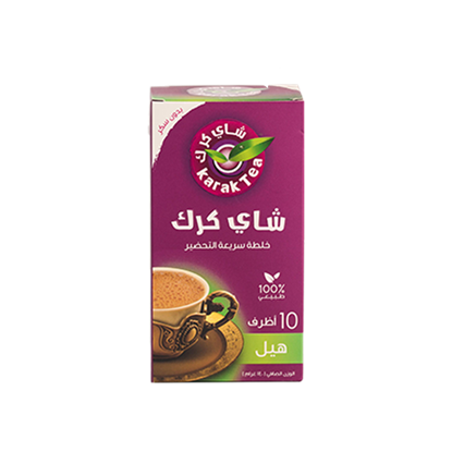 Picture of Karak Tea  UnSweetened Cardmom 140g - 10 Sachets