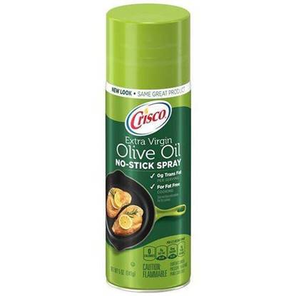 Picture of CRISCO EXTRA VIRGIN OLIVE OIL SPRAY 141 GMS
