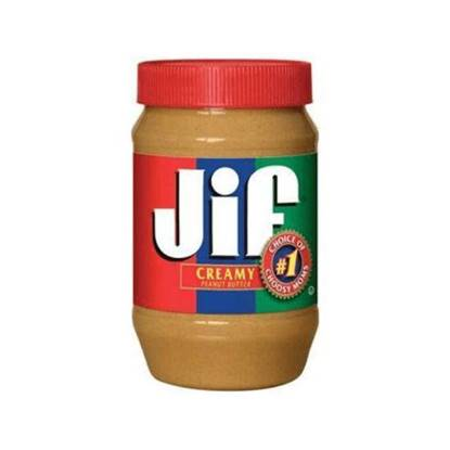 Picture of JIF CREAMY PEANUT BUTTER 454 GMS