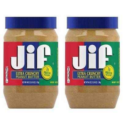 Picture of JIF EXTRA CRUNCHY PEANUT BUTTER 454 GMS