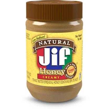 Picture of JIF NATURAL HONEY PEANUT BUTTER CREAMY 454 GMS