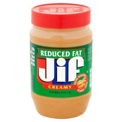 Picture of JIF REDUCED FAT CREAMY PEANUT BUTTER SPREAD 454 GMS