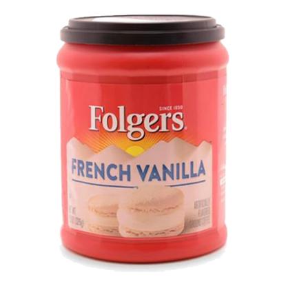 الصورة: فولجرز قهوة مطحونة بالفانيليا الفرنسية 326 جم