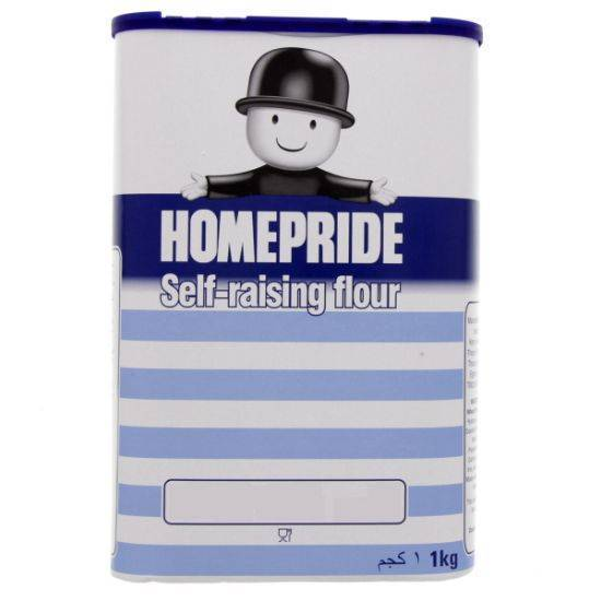 Picture of HOMEPRIDE SELF-RAISING FLOUR 1 KG*10