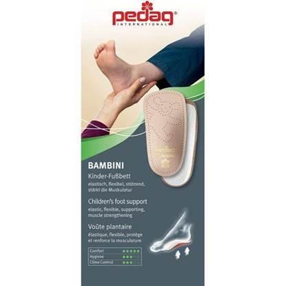 الصورة: فرش الحذاء للاطفال لمنع تسطح القدمين  24-25