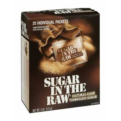 Picture of SUGAR IN THE RAW BROWN SUGAR 25 SACHETS