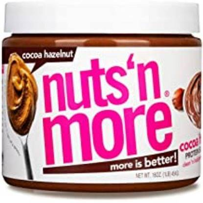Picture of NUTS N MORE - HIGH PROTEIN + PEANUT SPREAD - COCOA HAZELNUT