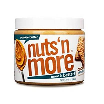 Picture of NUTS N MORE - HIGH PROTEIN + PEANUT SPREAD - COOKIE BUTTER