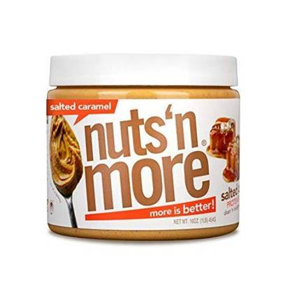 Picture of NUTS N MORE - HIGH PROTEIN + PEANUT SPREAD -  SALTED CARAMEL