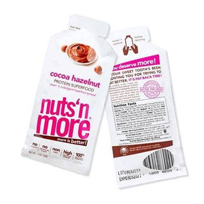 Picture of NUTS N MORE HIGH PROTEIN SUPERFOOD HAZELNUT SNACK PACK