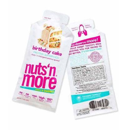 Picture of NUTS N MORE PROTEIN SUPERFOOD BIRTHDAY CAKE SNACK  PACK