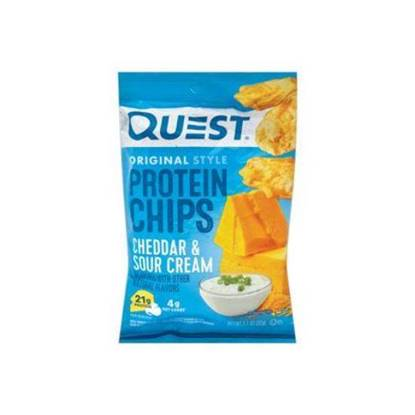 Picture of QUEST PROTEIN CHIPS CHEDDAR & SOUR CREAM FLAVOR