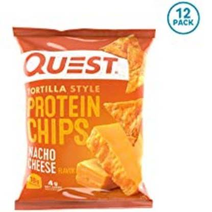 Picture of QUEST PROTEIN CHIPS NACHO CHEESE  FLAVOR