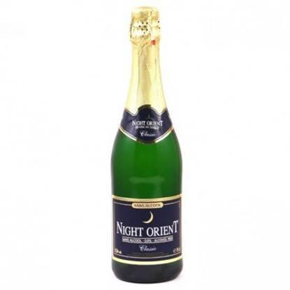 الصورة: نايت اورينت شراب فوار ازرق  للاحتفال خالي من الكحول