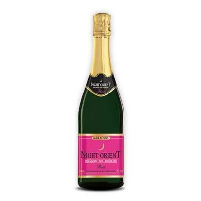 الصورة: نايت اورينت شراب الورد الفوار خالي من الكحول