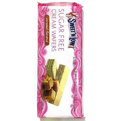 Picture of SWEET N LOW SUGAR FREE CARAMEL CREAM WAFERS