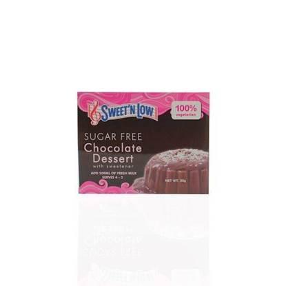الصورة: سويتن شوكولاتة حلويات خالي من السكر