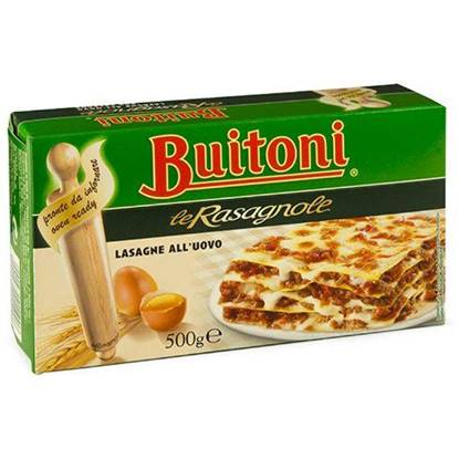 Picture of BUITONI LASAGNE W / EGG