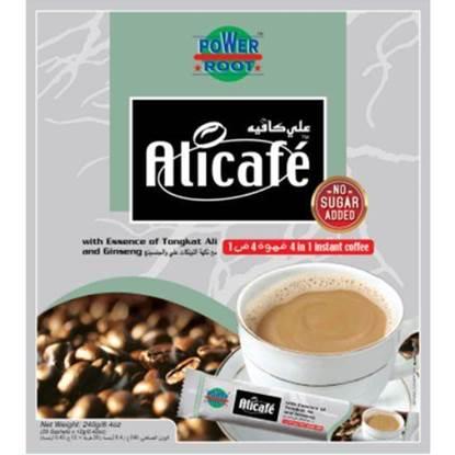 الصورة: علي كافيه قهوة 4 في 1 من دون سكر كيس