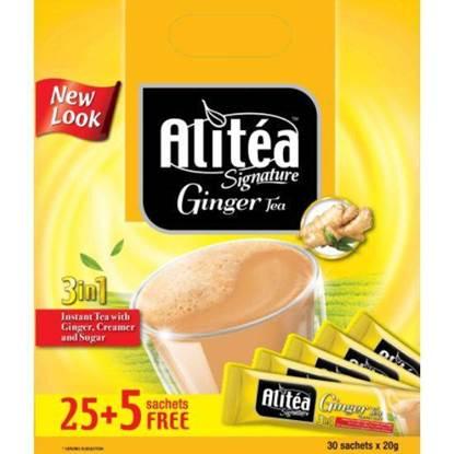 Picture of ALITEA CLASSIC GINGER TEA  25 SACHETS+ 5 SACHETS FREE BAG