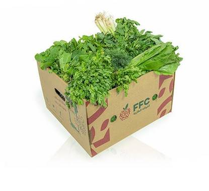 Picture of  Herbal box ( lettuce 1kg - parsley 1pices - coriander 1pices- dill 1pices )