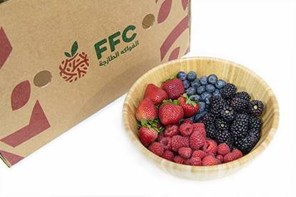 Picture of Berries Box ( Strawberry (450GM) Raspberry (170GM) Blueberry (170GM) BlackBerry (170GM) ))