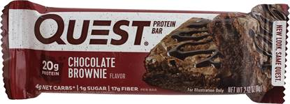Picture of QUEST BAR CHOCOLATE BROWNIE