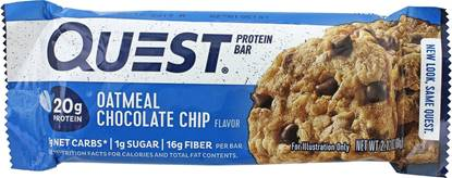 Picture of QUEST BAR OATMEAL CHOCOLATE CHIP
