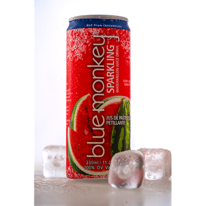 Picture of Blue Monkey Sparkling Watermelon Juice Drink