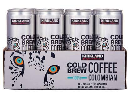 الصورة: كيركيلاند قهوه بارده كولومبيا