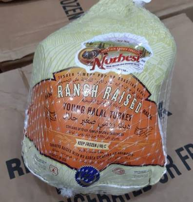 Picture of Norbest  Small Whole turkey halal