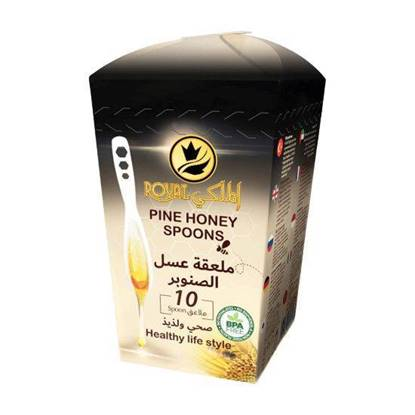 Picture of Al-Malaky Royal Pine Honey Spoon 7g*10