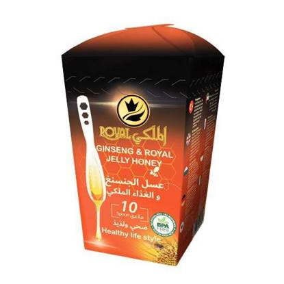 Picture of Al-Malaky Royal Ginseng & Royal Jelly Honey Spoon 7g*10
