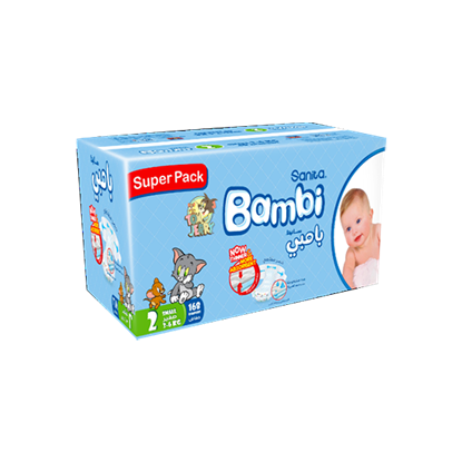 Picture of Bambi Super Pack Small #2 168 Diaper