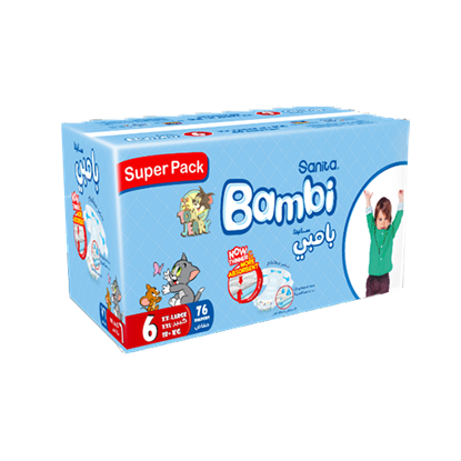 Picture of Bambi Super Pack XXL #6 76 Diaper