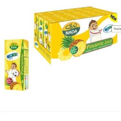 Picture of NADA AZZOZ JUICE PINAPPLE 200 ML