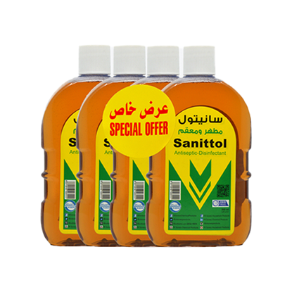 Picture of SANITTOL Antiseptic Disinfectant 500ML X 4
