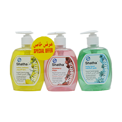 Picture of SHATHA HAND WASH ASSORTED 350ML X 3